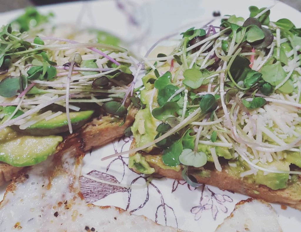 Avocado Toast with Microgreens